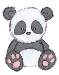 panda drawing - Google Search                                                                                                                                                                                 More