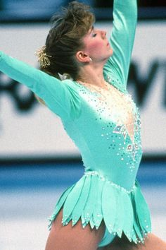 "This week, the prolific musician Sufjan Stevens released a new song titled ""Tonya Harding."" The haunting ode is, you guessed it, dedicated to the Tonya Harding, Ice Skating, Figure Skating, Athlete Costume, Kurt Browning, Nancy Kerrigan, Skate 3, Us Olympics, Ice Girls"