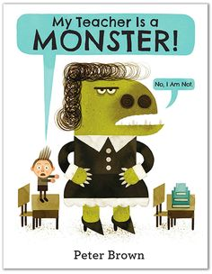 "This is a talkworthy text! We can just hear the shrieks of laughter, the cautious ""Oooohs"" and the wondering ""Hmmmmmms"" when our students first read this text. How will they react when Bobby declares his teacher a monster and their own teacher is reading the book to them! Can you see the heads turning, shoulders shrugging and hands suppressing laughter?"