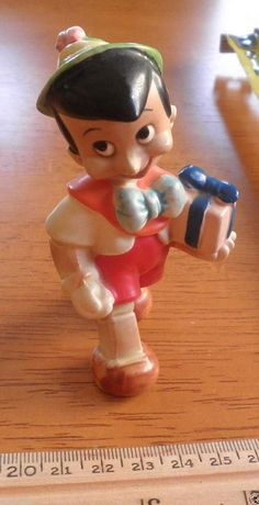 Pinocchio Disney Look 1960's Vintage Ceramic Christmas Figure Japan | eBay
