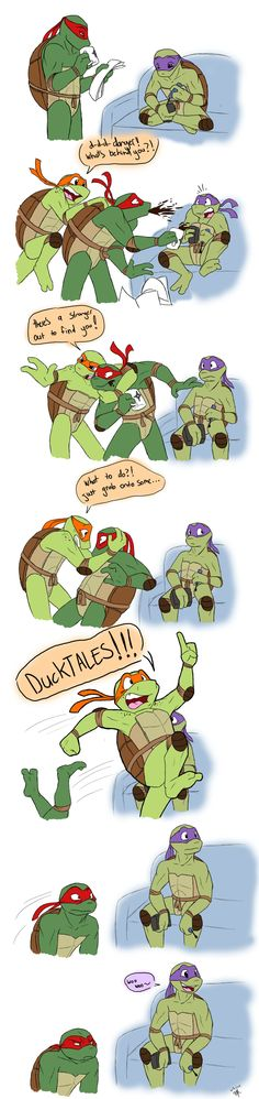 I havent laughed this hard, Donnie and raph in the last panel got me. xc