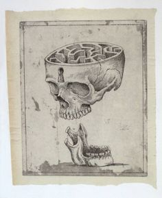 Find Modern Anatomy 1 by Otto D'Ambra online. Buy art online with confidence with free art advisory. Gravure Illustration, Skull Illustration, Antique Illustration, Occult Symbols, Occult Art, Tattoo Symbols, Esoteric Art, Esoteric Tattoo, Dark Art Drawings