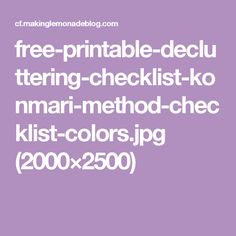 free-printable-decluttering-checklist-konmari-method-checklist-colors.jpg (2000×2500)