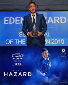 10/05/2019 - Eden Hazard wins players' player of the season!🙌