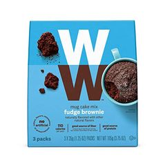 There are so many amazing Weight Watchers Snacks options! In addition to the zero point options, there are also easy to buy Weight Watchers Snacks options that make tracking easy since they are Weight Watchers endorsed as well! Fudge Brownies, Cake Mix Fudge, Box Cake Mix, Brownie Cake, Weight Watchers Snacks, Weight Watcher Muffins, Weigh Watchers, Ww Desserts, Dessert Recipes