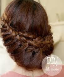 Stunning Braided Updo Style – Princess Braid Updo Hairstyle Video Hair Styles for Girls Braided Hairstyles Updo, Braided Updo, Pretty Hairstyles, Updo Hairstyle, Style Hairstyle, Updos, Amazing Hairstyles, Wedding Hairstyles, Twisted Braid