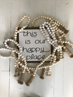 The BoHo Beads are accessories for your home! To order check out @thebohobeads on Instagram!