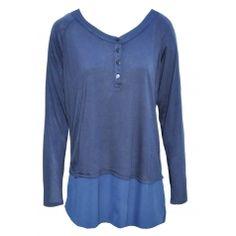 39447-17 Tunic Tops, Blouse, Long Sleeve, Sleeves, Mens Tops, T Shirt, Women, Fashion, Supreme T Shirt