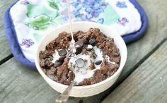 5-Minute Vegan Chocolate Oatmeal
