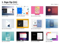 Daily inspiration collected from daily ui archive and beyond. Hand picked, updating daily.
