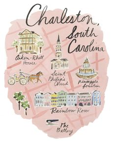 8 best places to visit in Charleston South Carolina. Domino hits the road for the historic Holy City to explore its splendid architecture, scenic landscapes and unrivaled food scene. For more travel guides and hotspot ideas go to Domino. Charleston Map, College Of Charleston, Charleston Sc Things To Do, Rainbow Row Charleston, Charleston Beaches, Charleston Homes, South Carolina Vacation, Charleston South Carolina, Carolina Usa