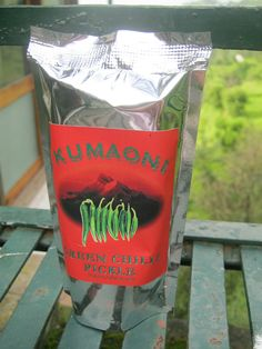 Green Chilli Pickle sourced from Mahila Umang Producers Company