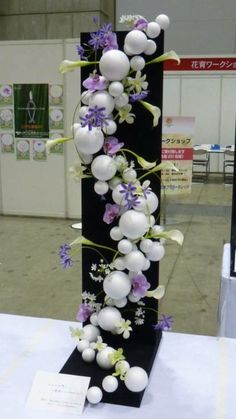 The world's catalog of creative ideas Balloon Decorations, Flower Decorations, Wedding Decorations, Christmas Decorations, Deco Floral, Arte Floral, Floral Design, Arrangements Ikebana, Floral Arrangements