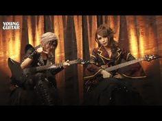 jupiter hizaki & teru - blessing of the future ~ guitar solo ~ young gui...