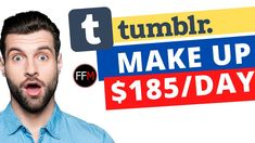Make $500 Per Day on Tumblr™ WITHOUT Blogging | Make Money Online-(Click... Facebook Marketing, Affiliate Marketing, Make Money Online, How To Make Money, Free Training, Training Courses, Revolutionaries, Online Business, Blogging
