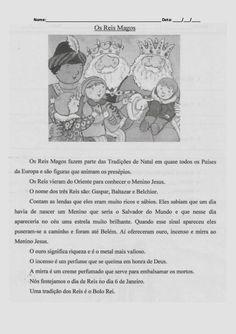 O mundo colorido: Ficha de Português Lenda dos Reis Magos Education, Blog, Fall, January, Colouring In, Languages, Christmas, Rice, Training