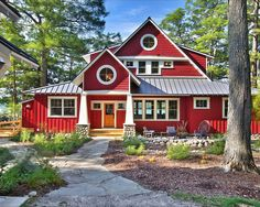 Always partial to a red house