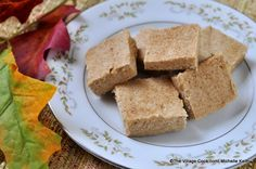 sugar n' spice fudge, same as cake batter fudge but with spice cake.
