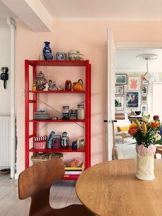 IKEA Hack on an IVAR shelf …. – Mother of Mernee – toptrendpin. Home Interior, Interior Design Living Room, Interior Decorating, Decorating On A Budget, Handmade Home Decor, Cheap Home Decor, Diy Home Decor, Tv Decor, Decor Ideas