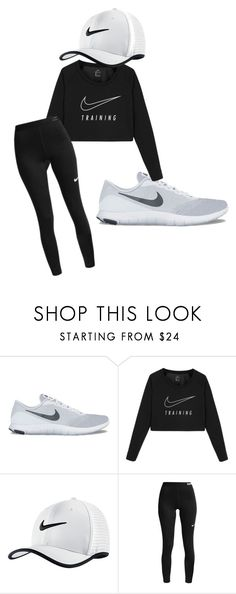 """""""Everyday!"""" by mckennarockow ❤ liked on Polyvore featuring NIKE"""