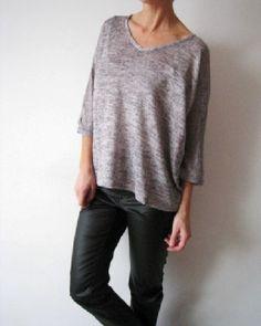 YOUNG sweter bluzka luźny oversize szary melanż M (2966821341) - Allegro.pl - Więcej niż aukcje. Najlepsze oferty na największej platformie handlowej.