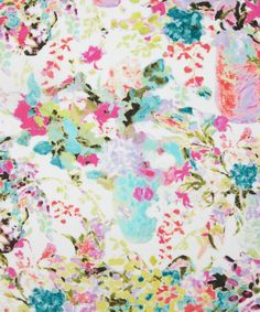 Hugo Grenville B Torrington Crepe De Chine, Liberty Art Fabrics