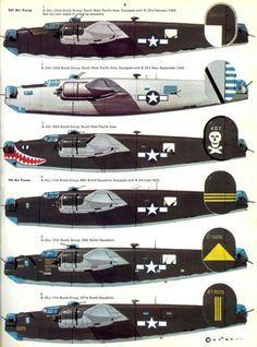 Consolidated-B-24 Liberator, World War II Warbirds.
