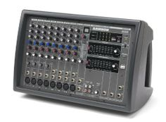 Samson Technologies XML610 12-Channel Powered Mixer, 600W by Samson Technologies. $346.75. Samson's XML610 12-Channel Stereo Powered Mixer incorporates solid professional sound reinforcement with a lightweight, Class D amplifier design to set it apart from the rest of the pack. Utilizing the latest innovations in mixer effects, equalization and amplifier technology, the XML610 offers the optimal powering option for any bar, club or performance venue. These features make the ...