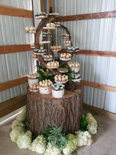 Awesome cupcake tree