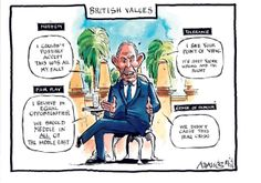 Tony Blair and British Values. Merging the crisis in English schools and ISIS conflict. British Values, Tony Blair, My Fault, Point Of View, Memes, Schools, June 16, Birmingham, Cartoons