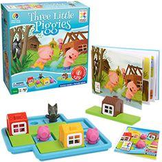 Three Little Piggies - Best Toys for Child Development.