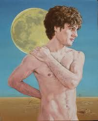 Appreciation of the beauty of the male form in different art forms from various periods in human history. I own none of these works of art; Run by: romuvulcan and mariaborgart. Beauty In Art, Male Beauty, Rainer Fetting, Male Figure, Male Form, Gay Art, Artist Names, Photo Manipulation, Figurative Art