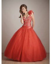 Orange Ball Gown One Shoulder and Sweetheart Bandage Floor Length Quinceanera Dresses With Sequined and Beading