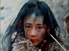 Oil Painting Portrait Tutorial by Zhu Kai Master Artist - YouTube