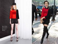 Lily Collins In Maxime Simoëns – Fox 29′s 'Good Day'