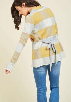 Simply Snuggly Plaid Cardigan in Dawn Fall Fashion 2016, Autumn Fashion, Winter Wardrobe, Stitch Fix, Retro Vintage, Sweaters For Women, Fall Winter, Plaid, Modcloth