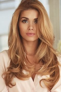 Copper Blonde Hair Color - Best Hair Color for Brown Green Eyes Check more at http://www.fitnursetaylor.com/copper-blonde-hair-color/
