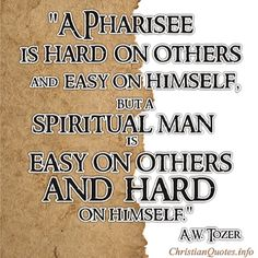 Tozer Quote - Easy And Hard