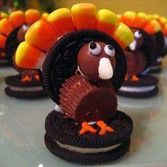 Oreo Turkey treats