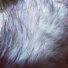 Fabric Outlet now sells unicorn fur!  (Kidding.  No unicorns were harmed in the making of this magical faux fur ;)
