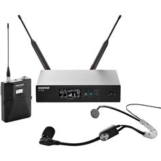 Shure QLX-D Digital Wireless System with SM35 Condenser Headset Microp