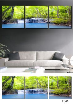 Piece Hot Sell scenery picture Modern Home Wall Decor painting Canvas Art HD Print Painting Canvas Picture Wall Painting $15.13