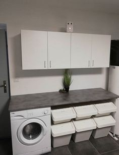 - Small Bathroom Renovations 753227106414482770 – Laundry room layout: 50 ideas for good interior d - Laundry Room Layouts, Small Laundry Rooms, Laundry Room Organization, Laundry Room Design, Laundry In Bathroom, Roman Bathroom, Laundry Decor, Small Bathroom Renovations, Decorating Bathrooms