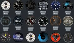montre connectee copie theme luxe