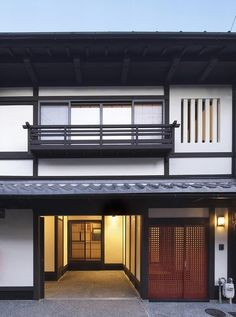 Japanese Buildings, Japanese Architecture, Interior Architecture, Japanese Interior, Japanese Design, Japanese House, City Buildings, Building A House, Home And Garden