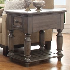 Riverside Furniture Belmeade Chair Side Table - End Tables at Hayneedle