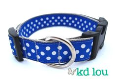 Blue & White Polka Dot  www.facebook.com/kdlou