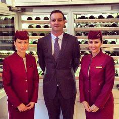Qatar Airways Flight Attendants