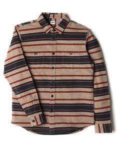 957eb17df31 Edwin Labour Shirt - Heavy Stripes - Multicolour
