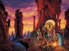 Darrell K. Sweet - The Shadow Rising - Wheel of Time